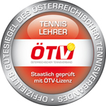 ÖTV Tennis Lehrer Siegel Silber
