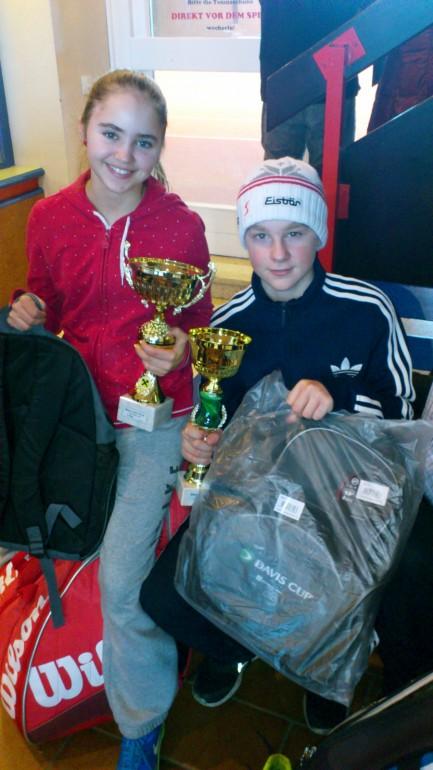 Nina Prenter und Matthias Di Gaspero Turnier 28.12.2012