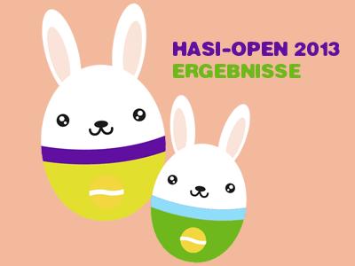 Hasi Open Ergebnisse 2013