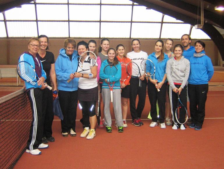CTT Mannschaftstraining  Dezember 2013 - Damen
