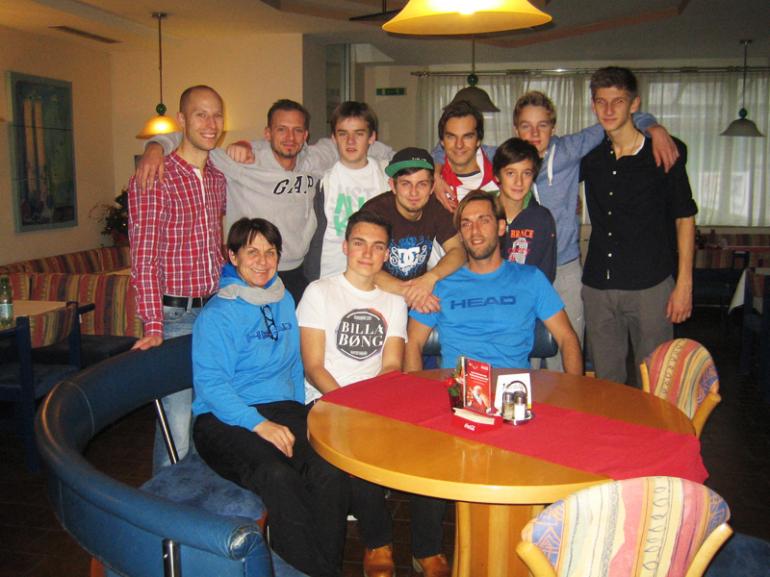 CTT Mannschaftstraining  Dezember 2013 - Herren