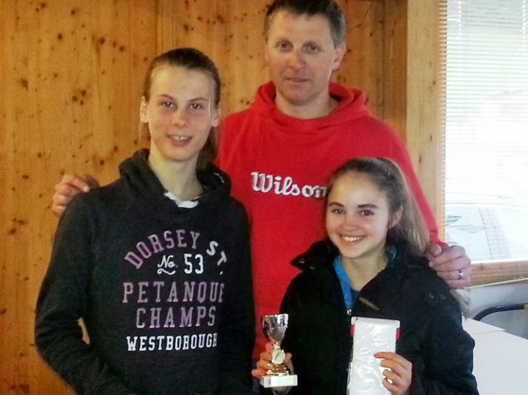 Siegerin KTV-Jugendcircuit Masters U16 Theresa Krassnig