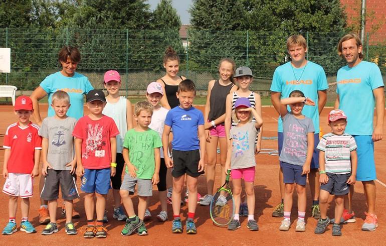 Klagenfurter Sportschnuppern Tennis 2015 / Championkids